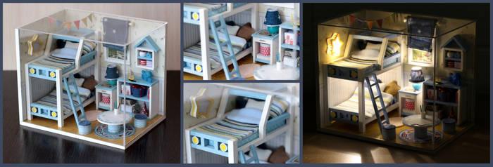 Kids' bedroom roombox