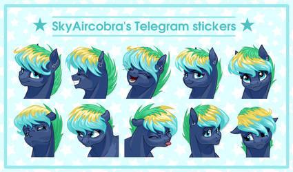 SkyAircobra's Telegram stickers