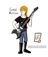 Casual Metalhead by EricThunderStriker