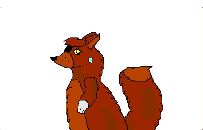 Uneasy fox by LuigiFavor