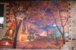 Mural for a private house