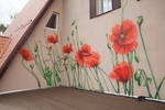 Poppies. Created for Forester House