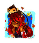 Cajoline and MoMo the Monkey