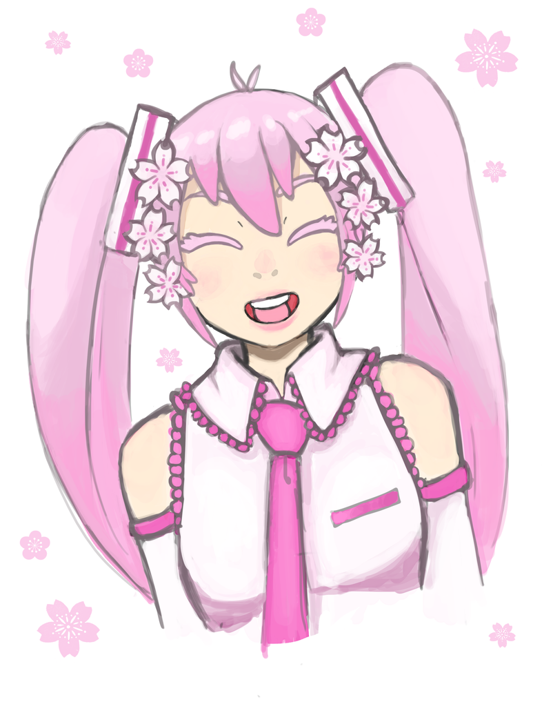 Sakura Miku by Otakucouture