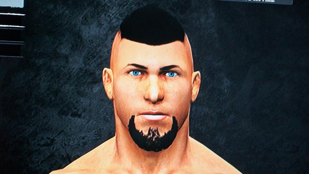 CAW Wrestler Dave Jeremy by LivingDeadSuperstar
