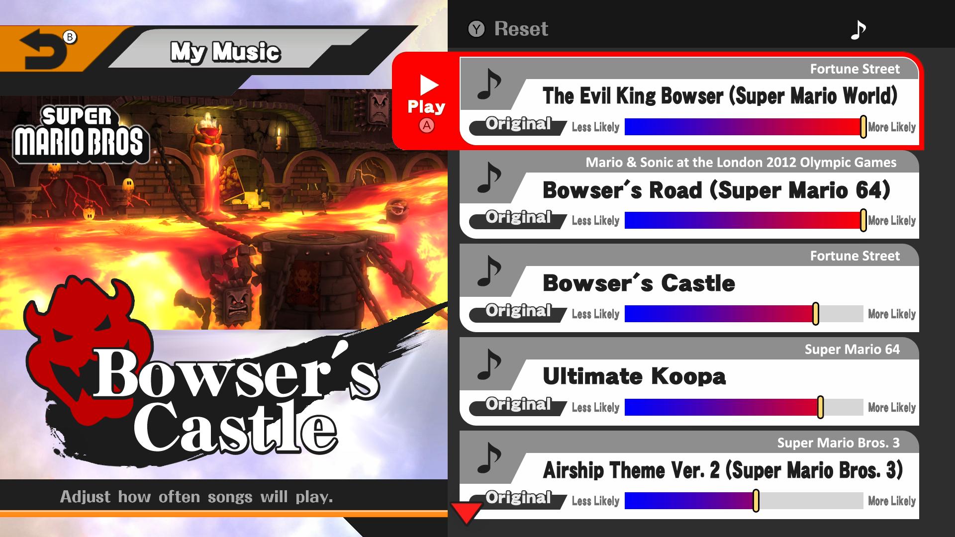 Bowser S Castle Super Mario Bros Smash Wii U By