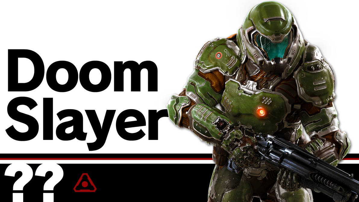 Doom Slayer (Super Smash Bros  Ultimate DLC) by LivingDeadSuperstar