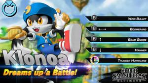 Super Smash Bros. Ultimate: Klonoa Concept