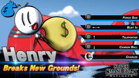 Super Smash Bros. Ultimate: Henry Stickmin Concept