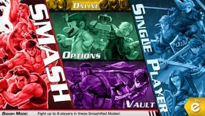 Super Smash Bros.: Main Menu Screen V3