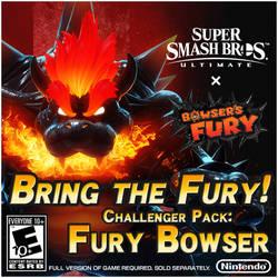 SSBU Challenger Pack: Fury Bowser Concept