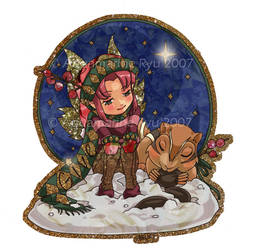 + Christmas Fairy: Give + by Glittercandy
