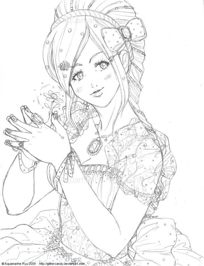 Jewel Princess Pencil by Glittercandy on DeviantArt