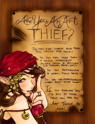 + Are You An Art Thief + by Glittercandy