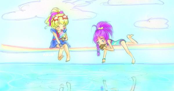Rainbow Brite Summer by Glittercandy