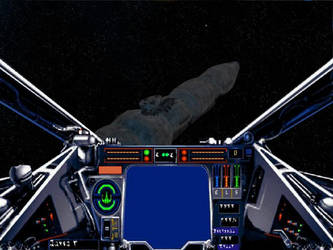 Views from an X-Wing scene 1