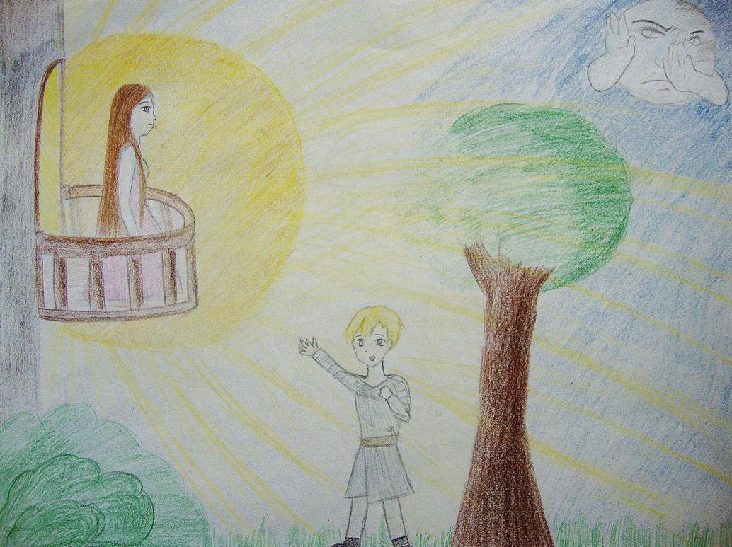 how to draw romeo and juliet balcony scene