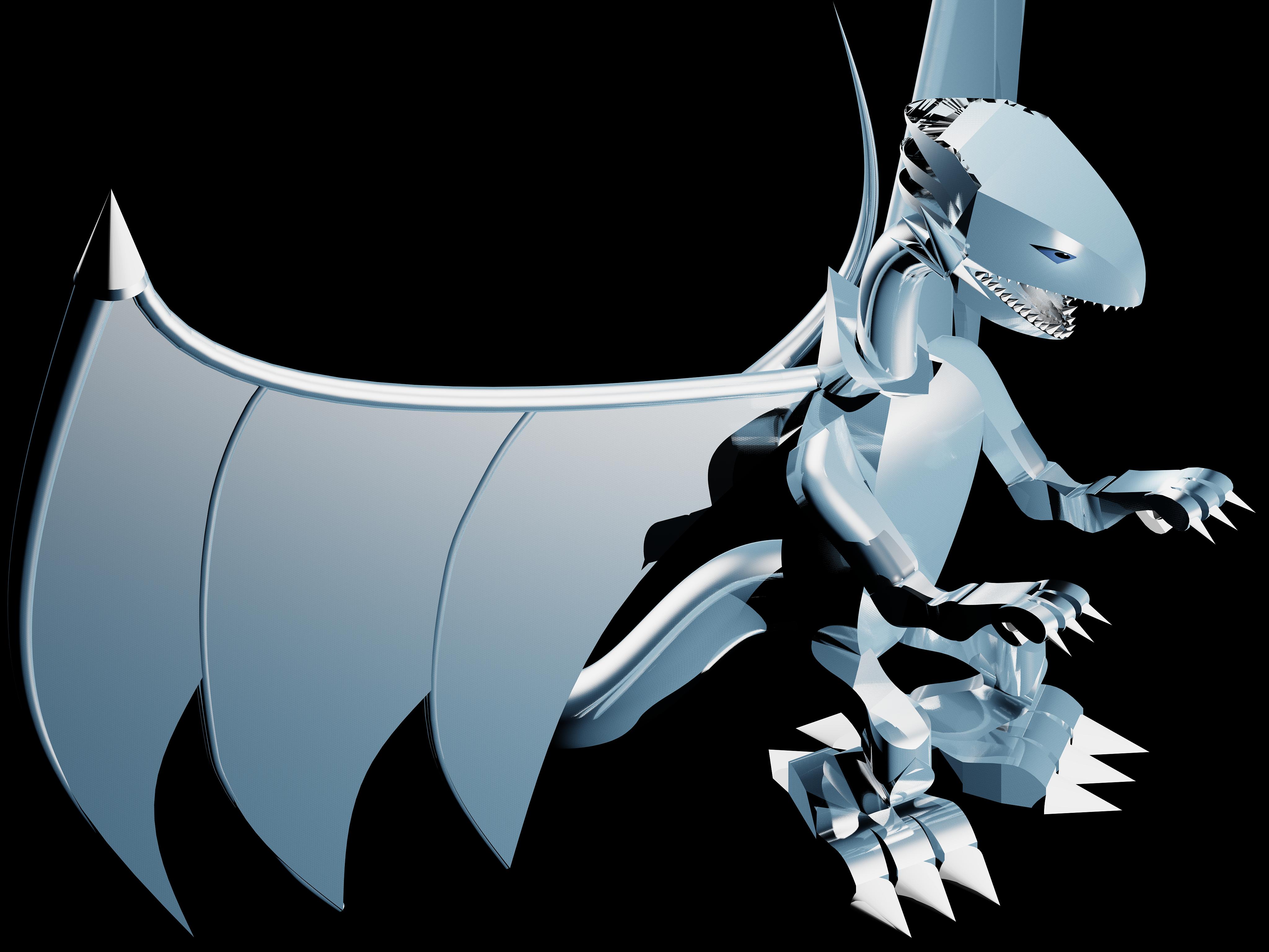 white dragon 3d - photo #13
