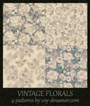 Patterns - Vintage Florals