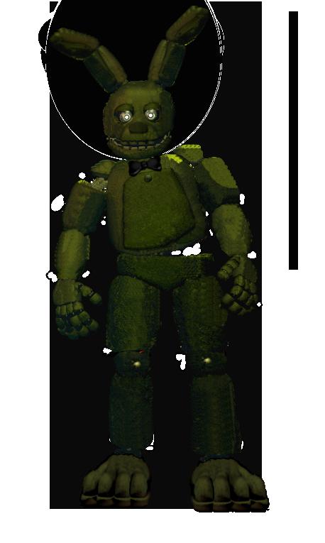 Old spring bonnie minecraft skin