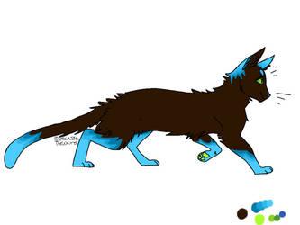 'Wave' Cat Adopt :Auction: by Snowbark-Warrior