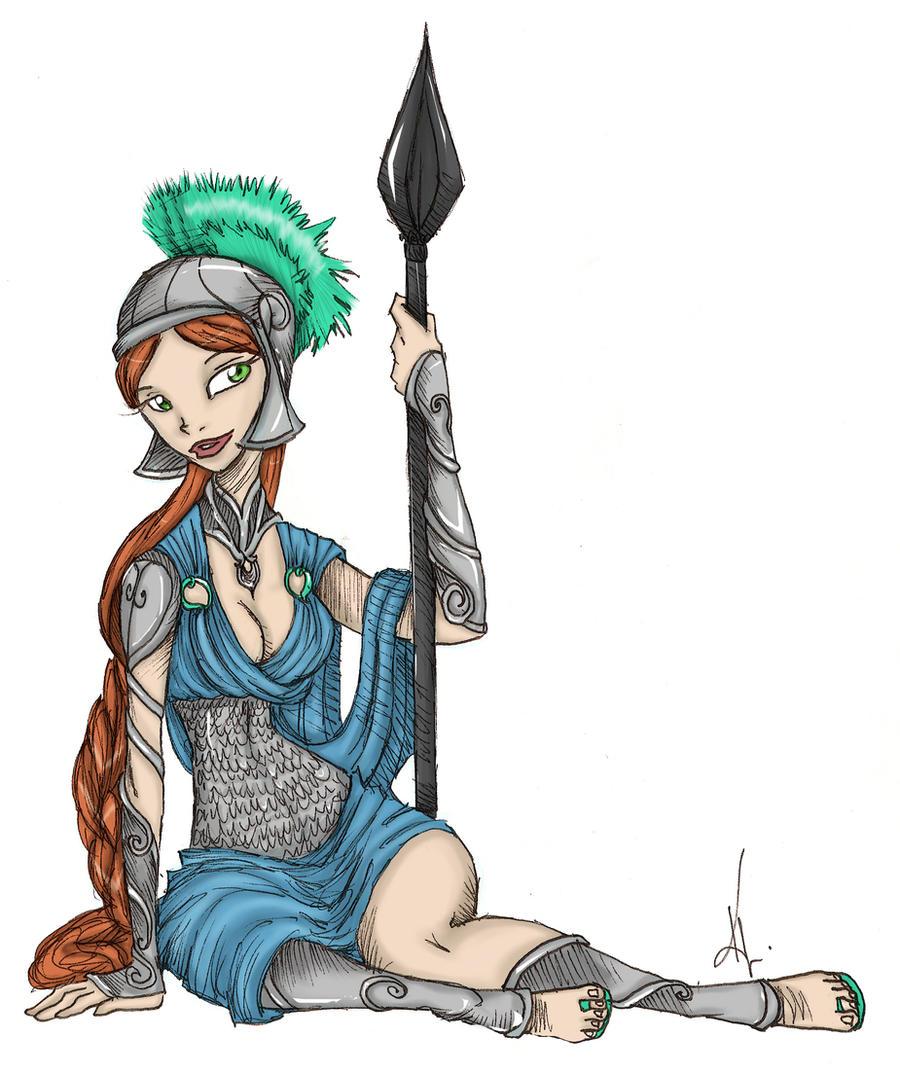 the goddess athena by sankofarida on deviantart