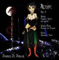 Halloween Town's Aceline by SankofaRida