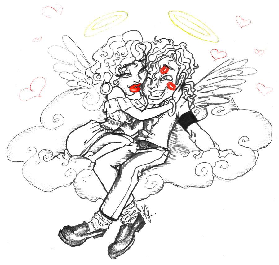 Heavenly Valentine by SankofaRida