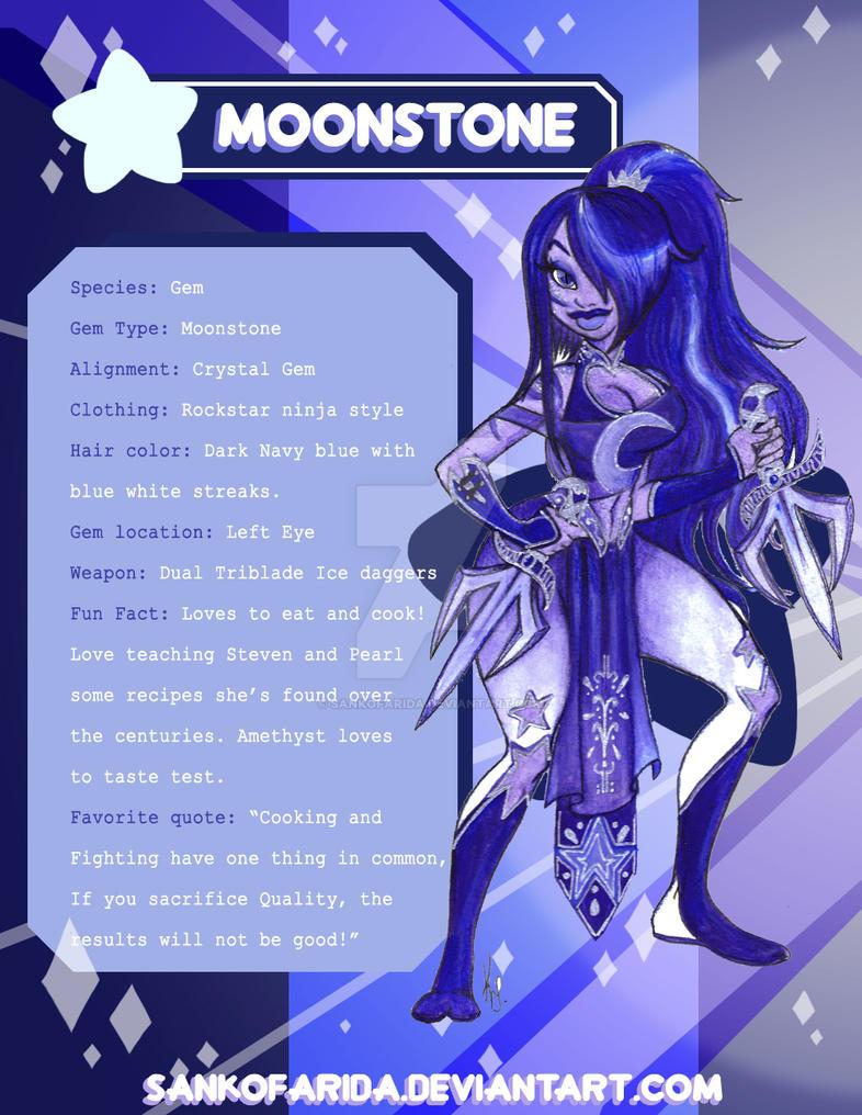 steven universe  Moonstone profile by SankofaRida