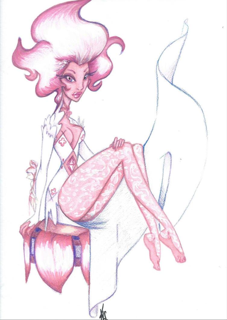Pink Diamond by SankofaRida