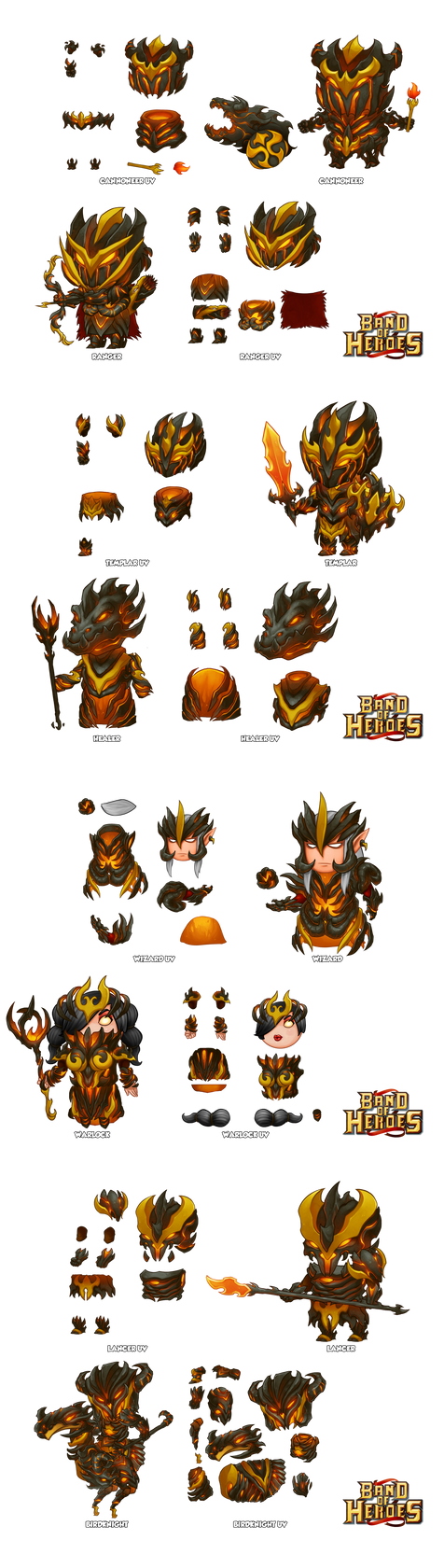 Band of Heroes Fire Armor by dominicali