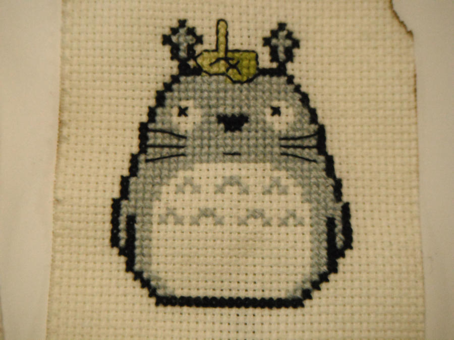 totoro 1 by dottypurrs