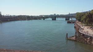 burnside bridge view