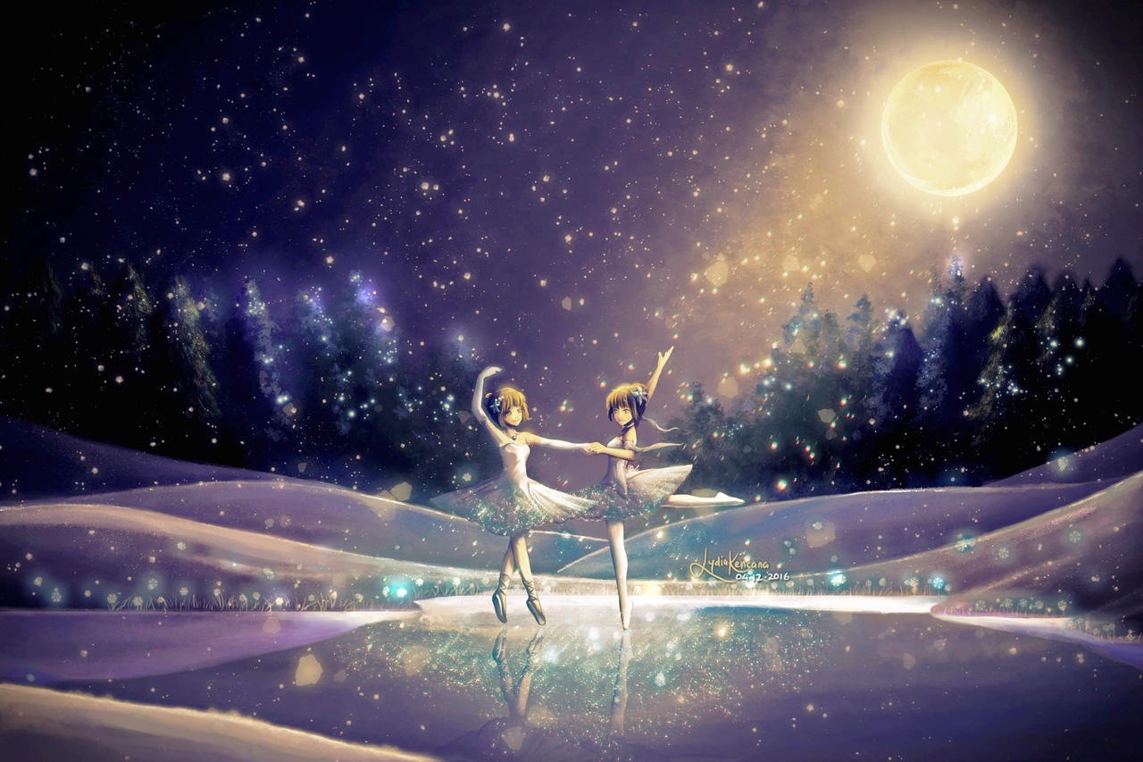 waltz of the snowflake by lydia kencana by dottypurrs