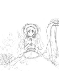 Sis And Lilies wip by lydia kencana by dottypurrs