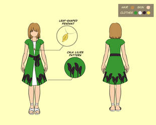 Summer dress by lydia kencana by dottypurrs