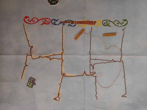 Slytherin harry potter cross stitch part 4