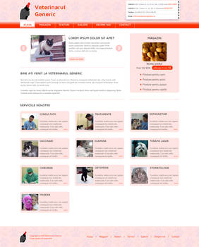 Veterinarian Business Template