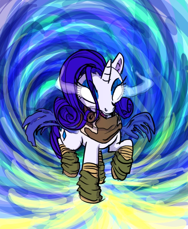 Rarity the Soul Reaver by shrivak