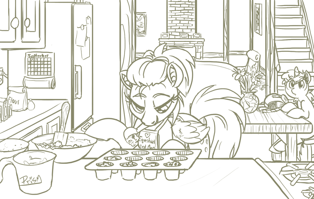Muffin Baking by shrivak