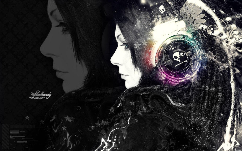 Beautiful Abstract Music Desktop Wallpaper By ThePwn3r