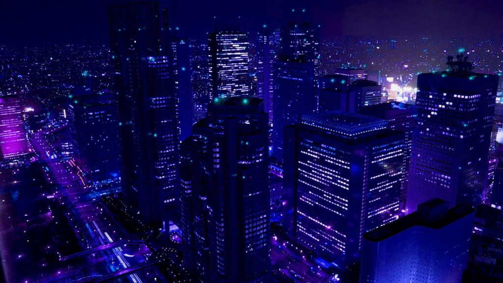 Beautiful Dark City Wallpaper Widescreen By ThePwn3r