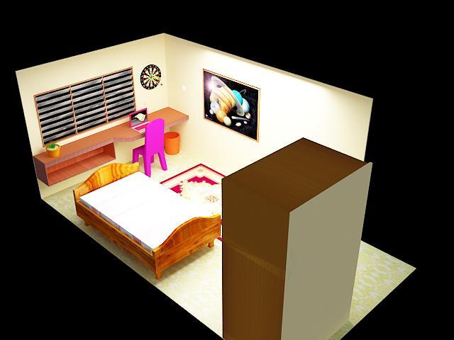 Small Room Model by ~FaraHikari on deviantART