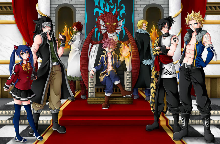 The Dragon Force By CelestialRayna