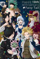 Fairy Tail's 10th Anniversary