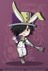 Chibi Spring Rogue Cheney by CelestialRayna