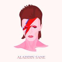 Aladdin Sane by Tharsius