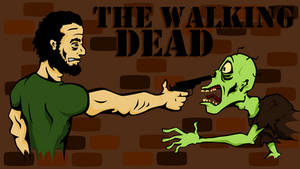 The Walking Dead by Tharsius