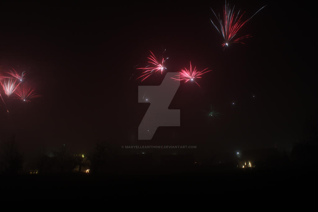 New Year's eve 2015 I by maryelleanthony