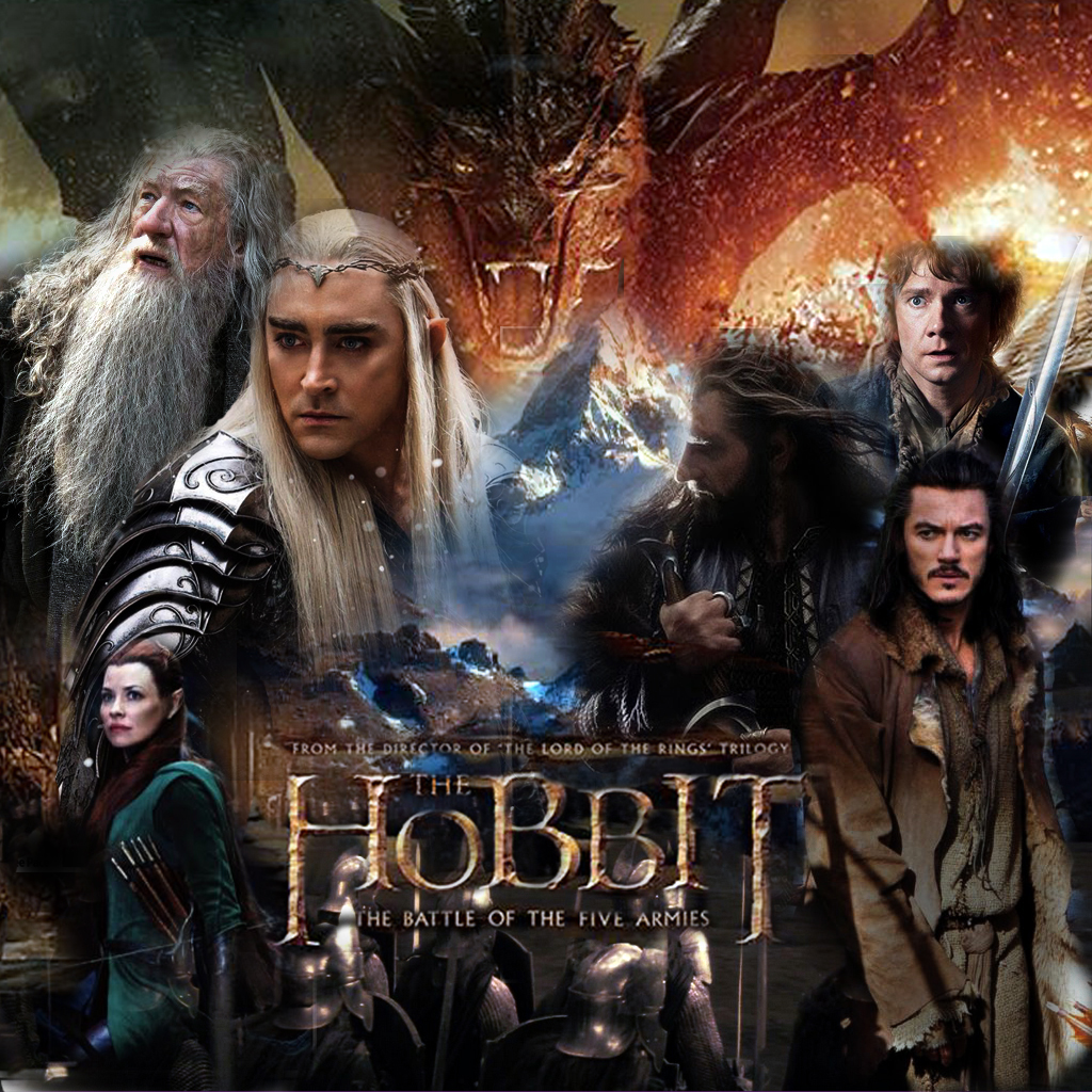 The Hobbit: the Battle Of Five Armies Poster [2] by ...